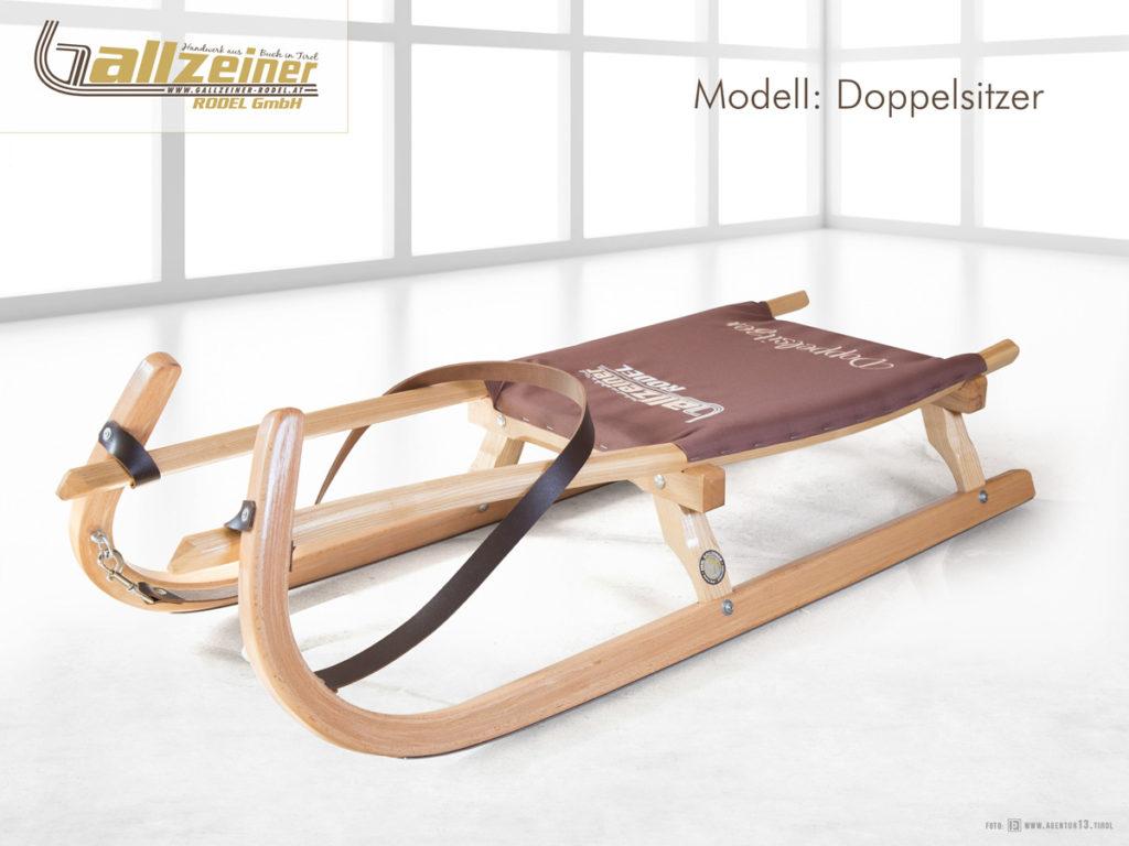 Gallzeiner Rodel GmbH | Buch in Tirol | Doppelsitzer