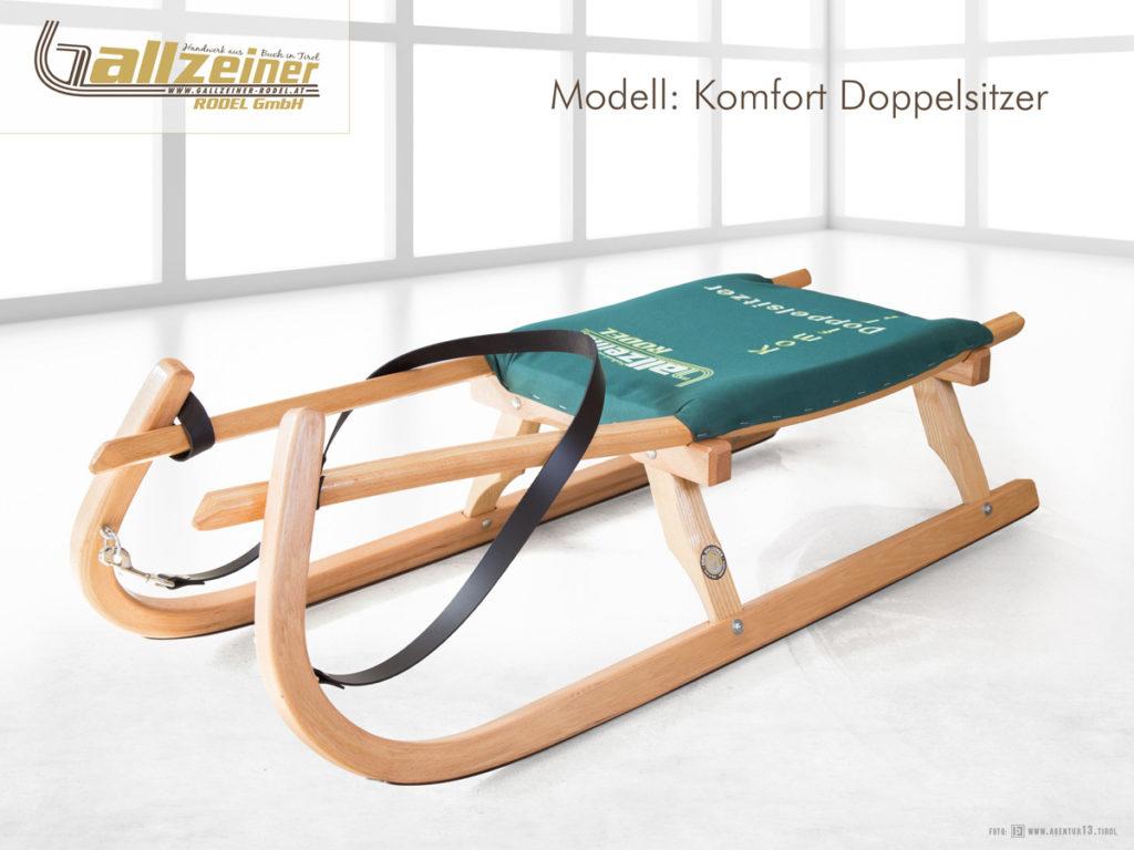 Gallzeiner Rodel GmbH | Buch in Tirol | Komfort Doppelsitzer