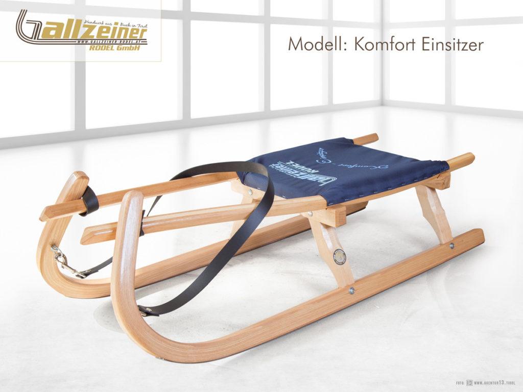 Gallzeiner Rodel GmbH | Buch in Tirol | Komfort Einsitzer