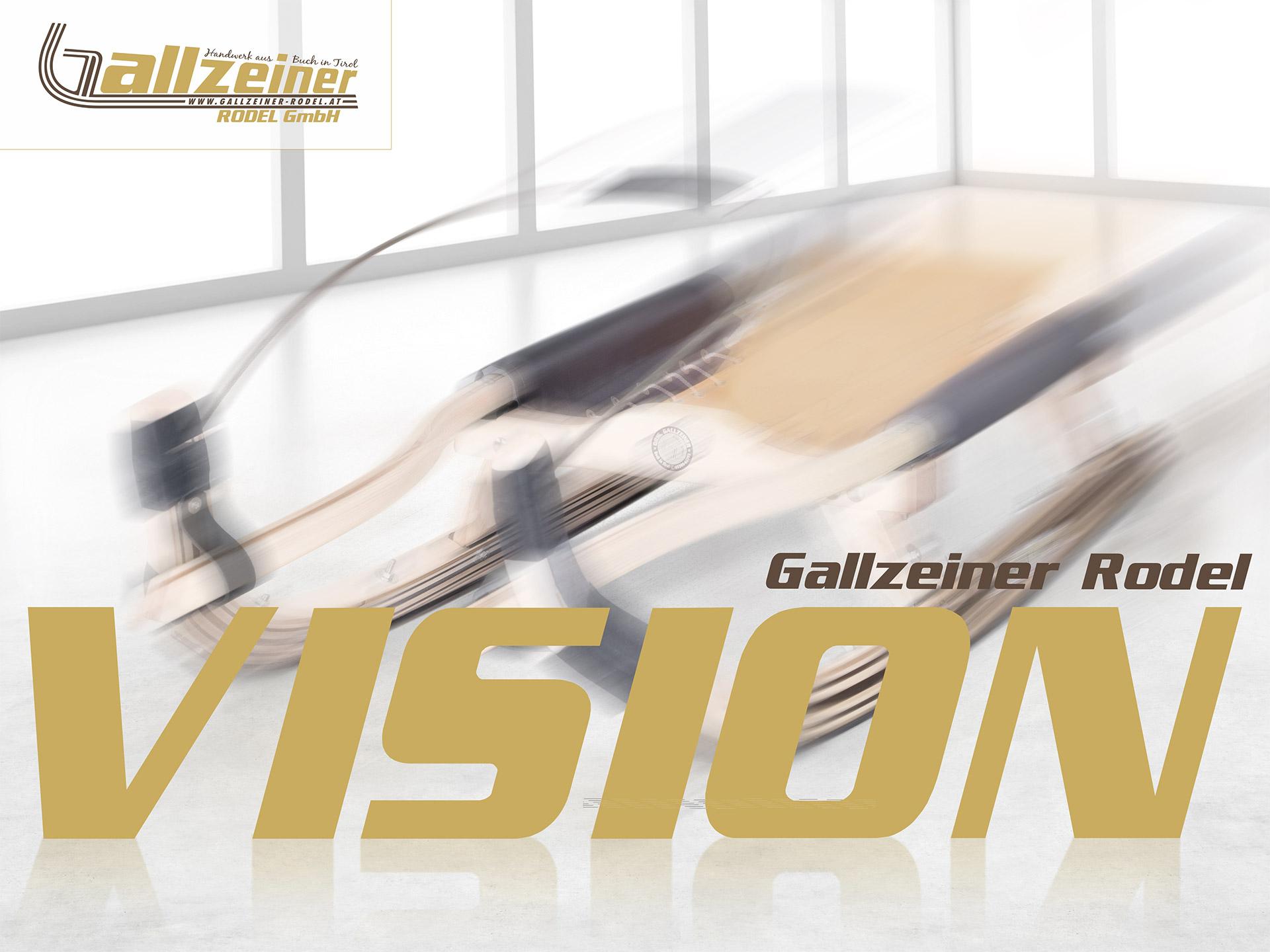 Gallzeiner Rodel GmbH | Buch in Tirol | VISION